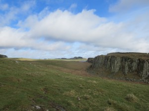 Peel Crags Northumberland